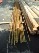 BAMBOO FOR FISHING TACKLE  18 FT TO 20 FT READY FOR SHIPMENT